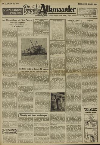 De Vrije Alkmaarder 1949-03-29