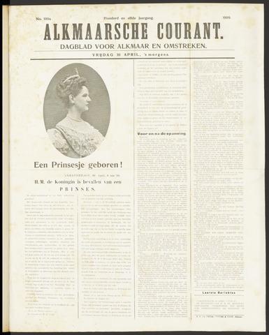 Alkmaarsche Courant 1909-04-30