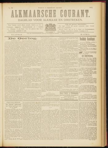 Alkmaarsche Courant 1917-04-23