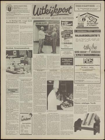 Uitkijkpost : nieuwsblad voor Heiloo e.o. 1988-08-31