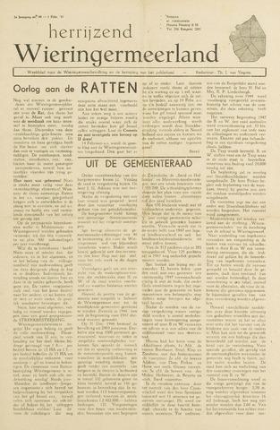 Herrijzend Wieringermeerland 1947-02-01