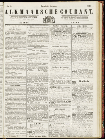 Alkmaarsche Courant 1878-03-03