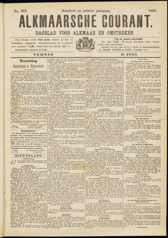 Alkmaarsche Courant 1906-07-13