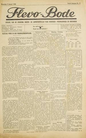 Flevo-bode: nieuwsblad voor Wieringen-Wieringermeer 1946-01-09