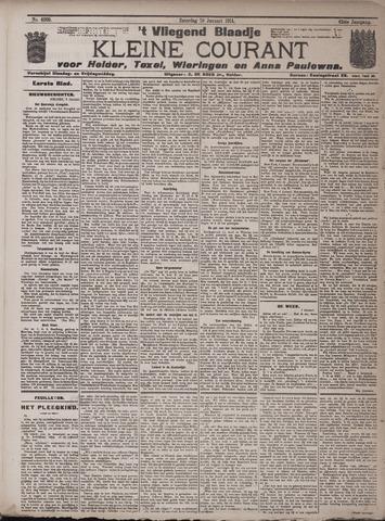 Vliegend blaadje : nieuws- en advertentiebode voor Den Helder 1914-01-10