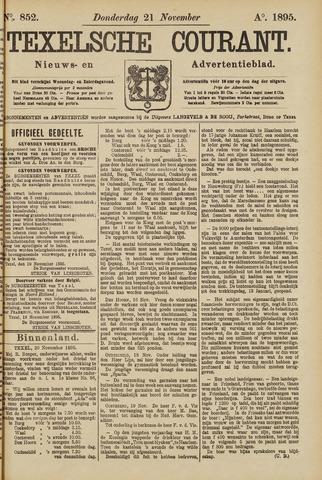 Texelsche Courant 1895-11-21