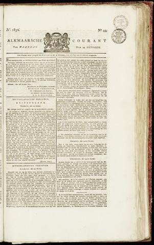 Alkmaarsche Courant 1832-10-29