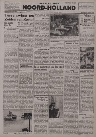 Dagblad Noord-Holland, Schager editie 1942-07-29