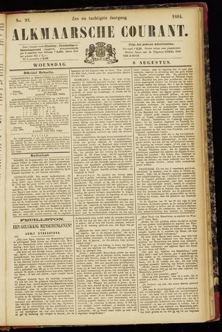 Alkmaarsche Courant 1884-08-06