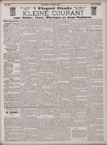 Vliegend blaadje : nieuws- en advertentiebode voor Den Helder 1904-08-31