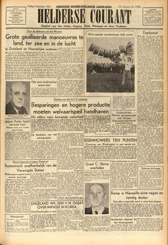 Heldersche Courant 1952-09-05
