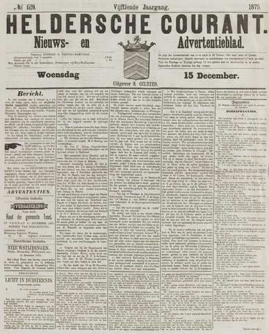 Heldersche Courant 1875-12-15