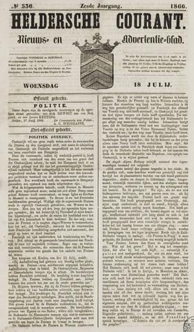 Heldersche Courant 1866-07-18