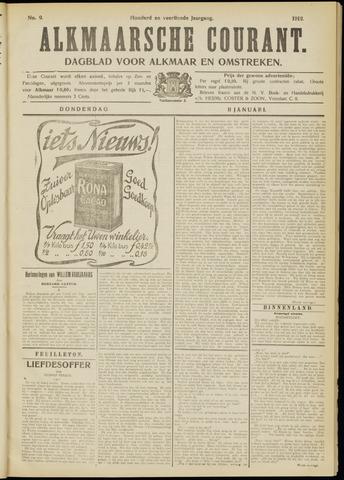 Alkmaarsche Courant 1912-01-11