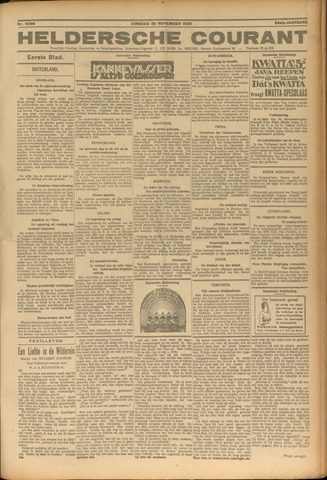 Heldersche Courant 1926-11-30