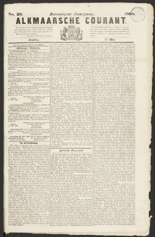 Alkmaarsche Courant 1868-05-17