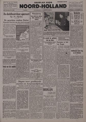 Dagblad Noord-Holland, Schager editie 1942-11-14
