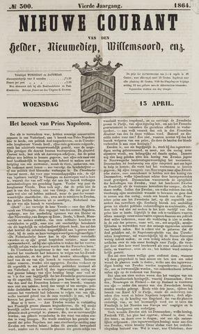 Nieuwe Courant van Den Helder 1864-04-13
