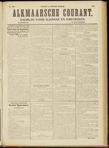 Alkmaarsche Courant 1911-10-31