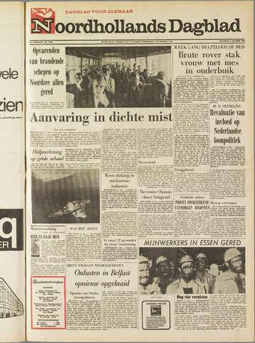 Noordhollands Dagblad : dagblad voor Alkmaar en omgeving 1969-10-06