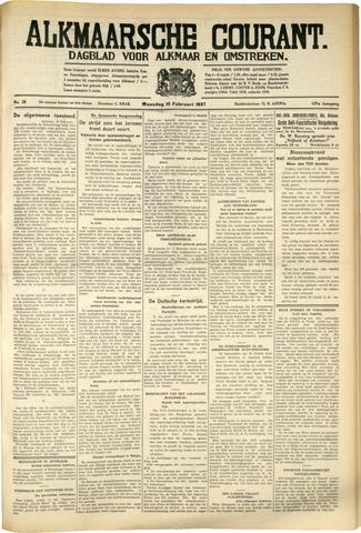 Alkmaarsche Courant 1937-02-15