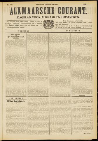 Alkmaarsche Courant 1913-08-27