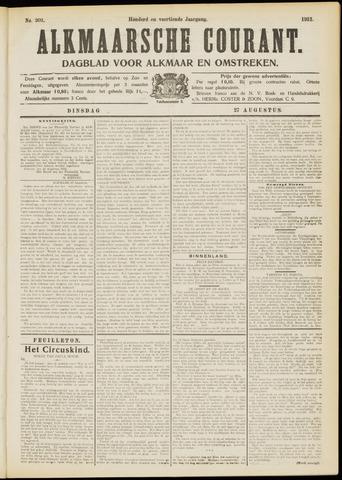 Alkmaarsche Courant 1912-08-27