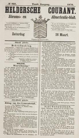 Heldersche Courant 1870-03-26