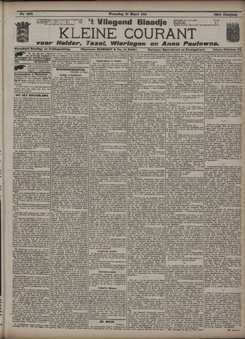 Vliegend blaadje : nieuws- en advertentiebode voor Den Helder 1910-03-23