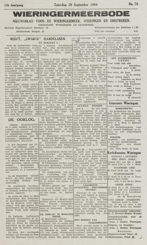 Wieringermeerbode 1944-09-30