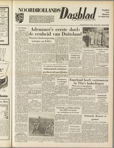 Noordhollands Dagblad : dagblad voor Alkmaar en omgeving 1953-09-08