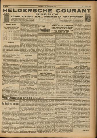Heldersche Courant 1921-08-27