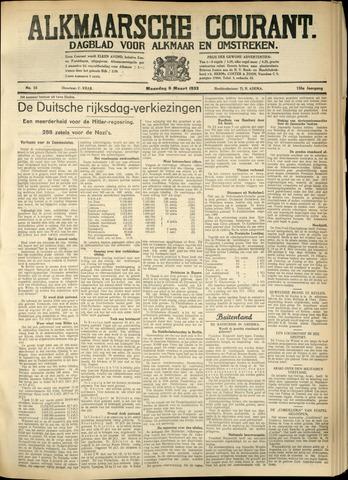 Alkmaarsche Courant 1933-03-06