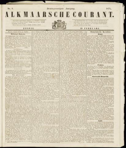 Alkmaarsche Courant 1871-02-19