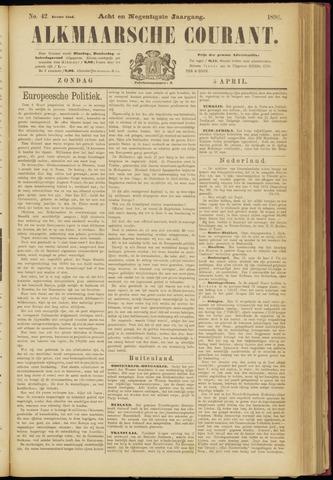 Alkmaarsche Courant 1896-04-05