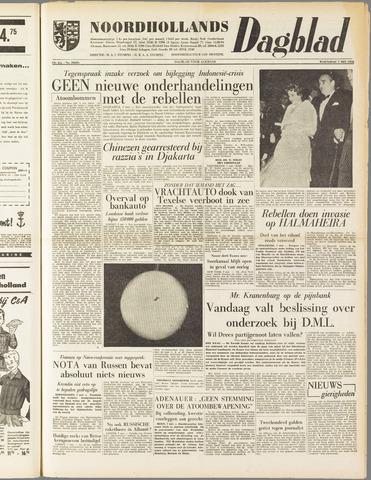 Noordhollands Dagblad : dagblad voor Alkmaar en omgeving 1958-05-07