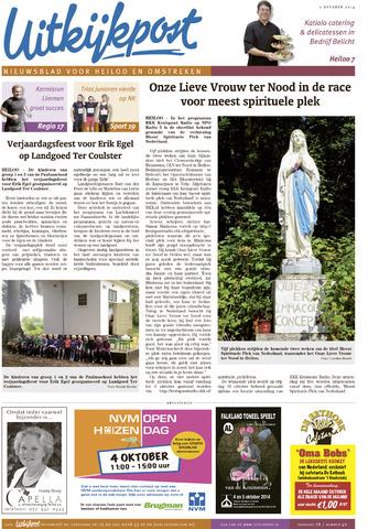 Uitkijkpost : nieuwsblad voor Heiloo e.o. 2014-10-01