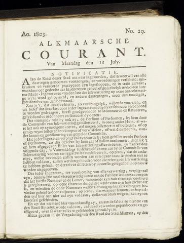Alkmaarsche Courant 1803-07-18