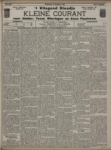 Vliegend blaadje : nieuws- en advertentiebode voor Den Helder 1909-08-25