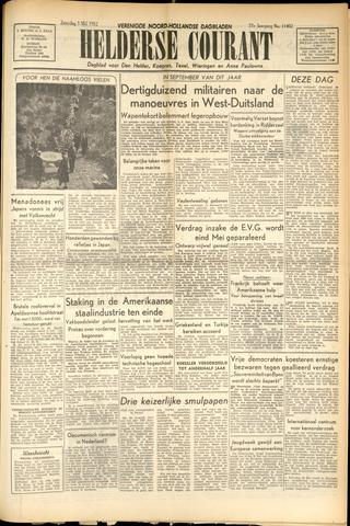 Heldersche Courant 1952-05-03