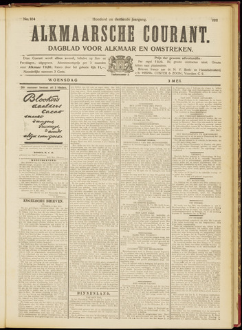 Alkmaarsche Courant 1911-05-03