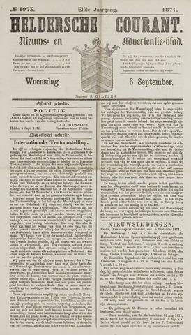 Heldersche Courant 1871-09-06