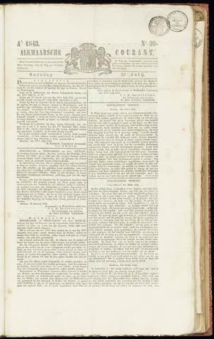 Alkmaarsche Courant 1843-07-24