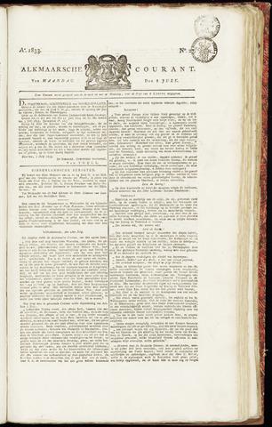 Alkmaarsche Courant 1833-07-08