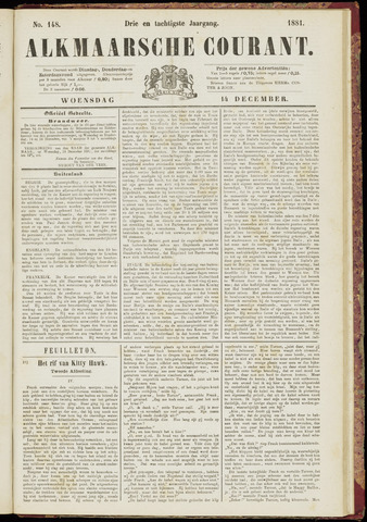 Alkmaarsche Courant 1881-12-14