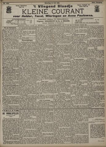 Vliegend blaadje : nieuws- en advertentiebode voor Den Helder 1906-07-14