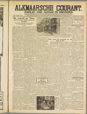 Alkmaarsche Courant 1941-12-22