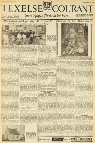 Texelsche Courant 1957-08-07