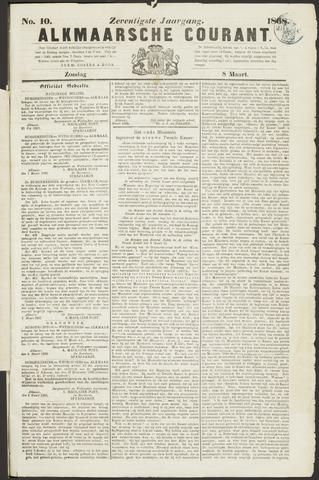 Alkmaarsche Courant 1868-03-08