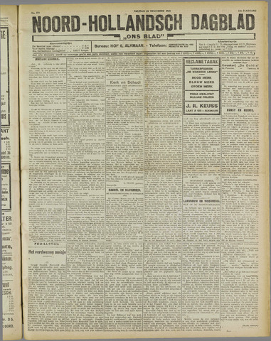 Ons Blad : katholiek nieuwsblad voor N-H 1921-12-30